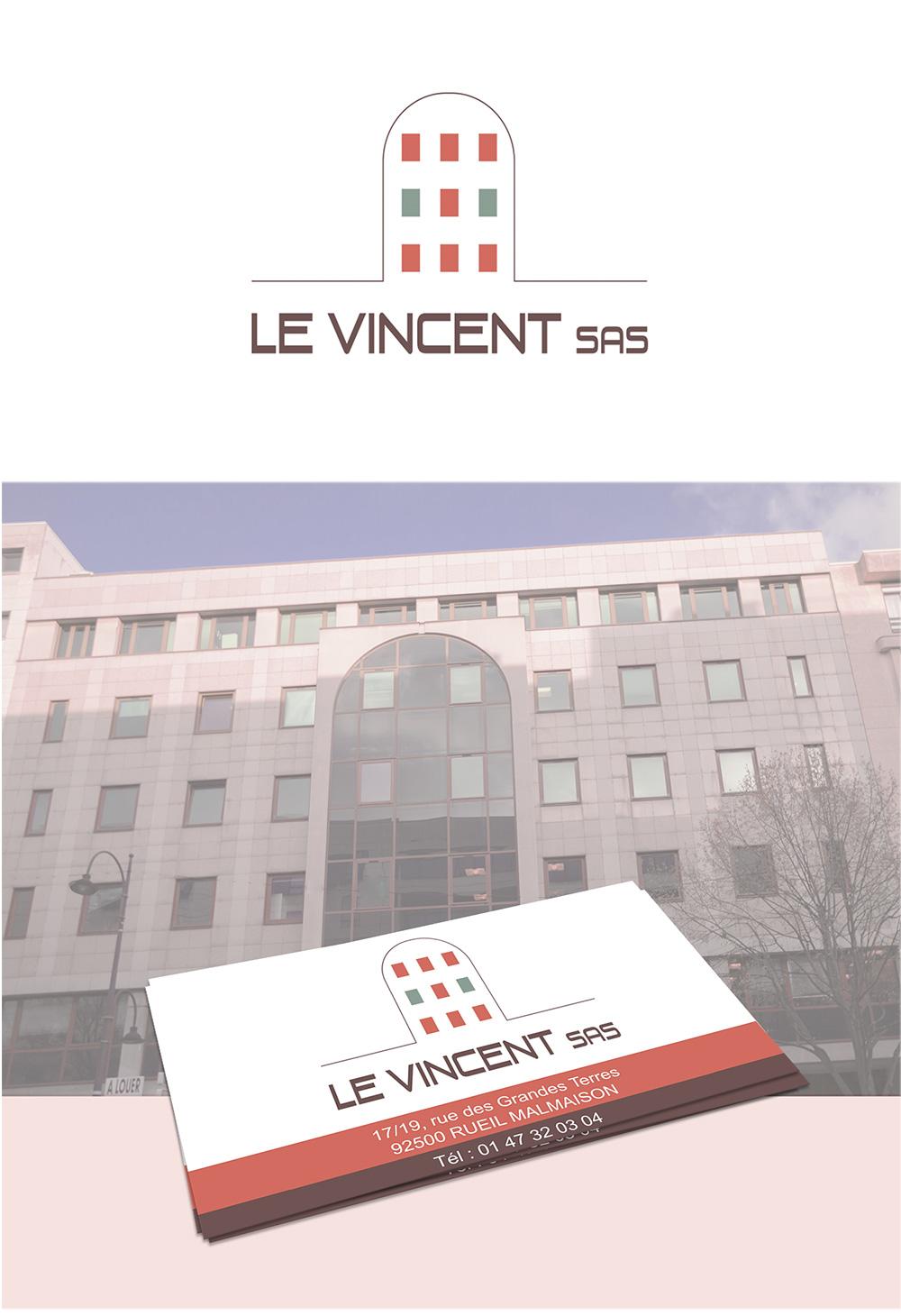 Identité visuelle - Le Vincent SAS - par Turkoiz Créations by Valérie Perrodo