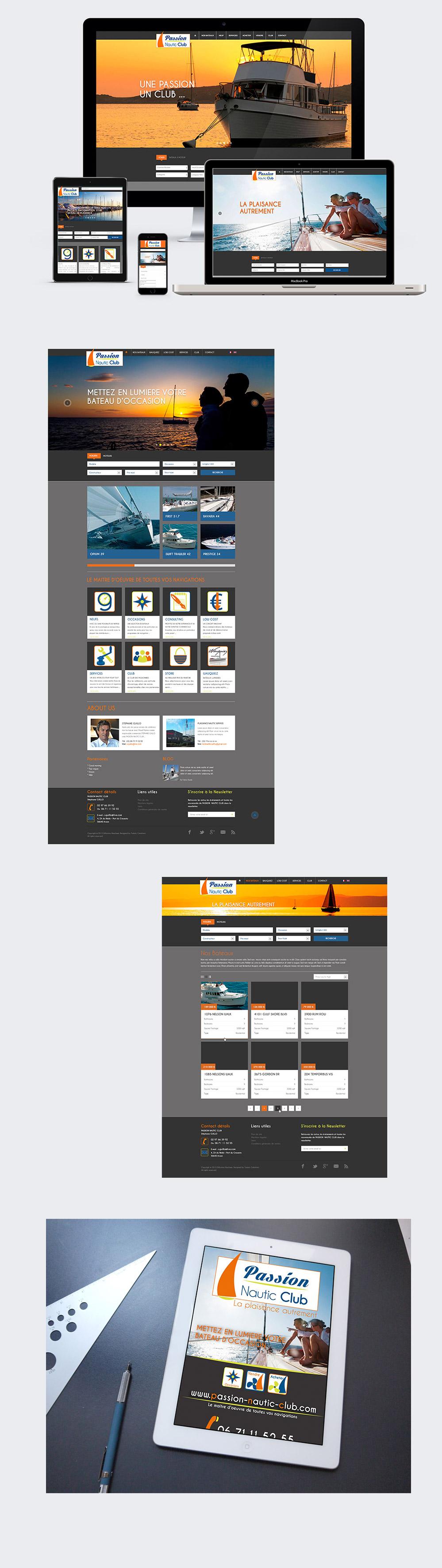Turkoiz-Creations-Passion-Nautic-Club-Webdesign