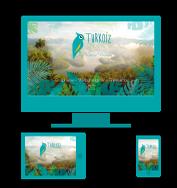 Turkoiz Créations by Valérie Perrodo - Webdesigner - Réalisation de site internet