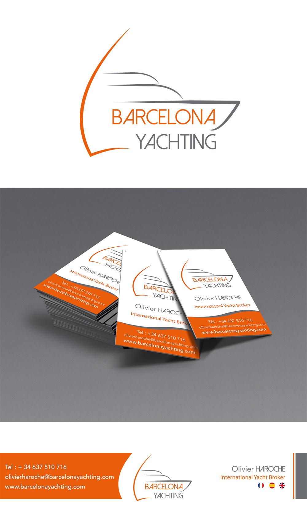 Identité visuelle - Barcelona Yachting - Réalisé par Turkoiz Créations by Valérie Perrodo