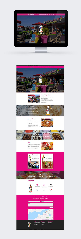 Webdesign - La Mer des Glaces Port du Crouesty - Réalisé par Turkoiz Créations by Valérie Perrodo