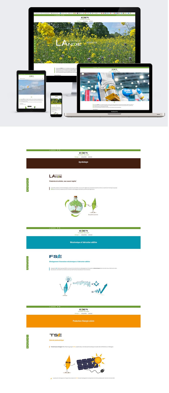 Webdesign - Eder réalisée par Turkoiz Créations by Valérie Perrodo