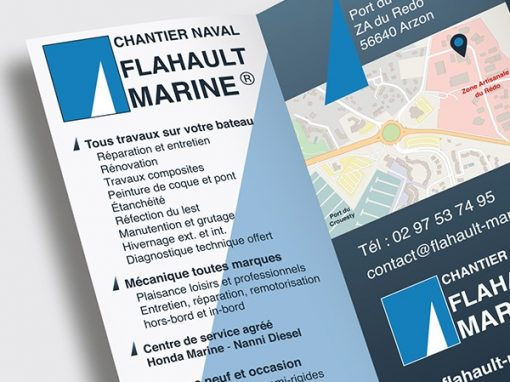 "Flahault Marine<span class=""soustitre""> Chantier naval</span>"