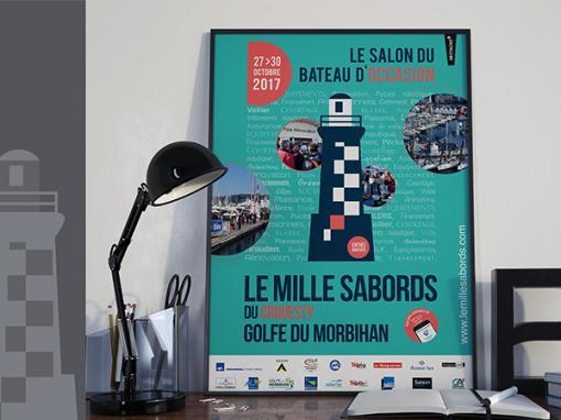 """Le Mille Sabords 2017  <span class=""""soustitre"""">   Salon du Bateau d'Occasion</span>"""